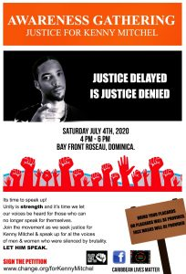 Awareness Gathering: Justice for Kenny Mitchel