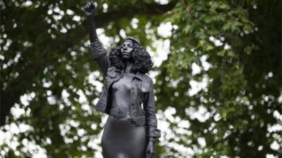 Protester statue replaces toppled United Kingdom slave trader