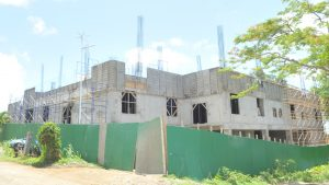 Construction of Marigot Hospital progressing quickly says Skerrit; about time says Linton