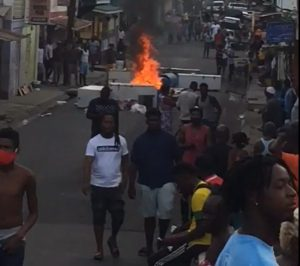 Community protests over police shooting in Grenada