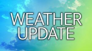 WEATHER (6:00 a.m., Sept 14): Possible scattered showers, thunderstorms next 24 hrs