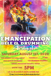 LIVE: Emancipation and Bele Drumming Festival