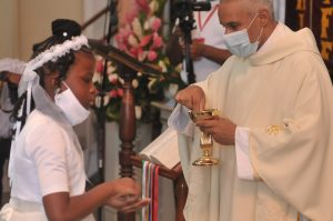 IN PICTURES: First Communion in Our Lady of Fair Haven Cathedral Parish