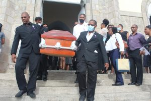 Mally Peltier laid to rest