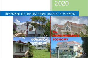 Opposition Leader's 2020-2021 Budget Response