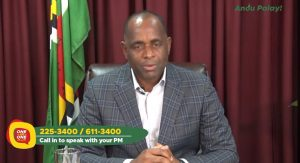 Skerrit condemns 'harassment' by opposition forces; says he will not be frightened