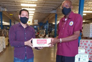 DCP successor donates soap to teachers in support of keeping families safe during COVID