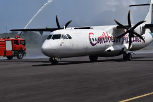 BUSINESS BYTE: Inaugural flight of Caribbean Airlines to Dominica