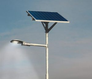 Persons who damage solar street lights warned of 'stern consequences' if caught