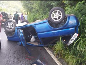Mother and son escape serious injury in Jimmit accident