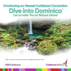 Dominica welcomes Caribbean Airlines to its shores