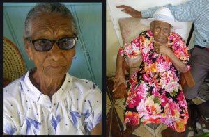 HIGHLIGHTING THE ELDERLY: Centenarians Elizabeth Auguiste & Gwendolyn Magloire