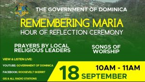 LIVE from 10am: Remembering Maria hour of reflection ceremony