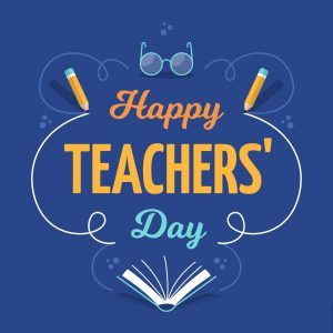 ANNOUNCEMENT: Happy Teacher's Day