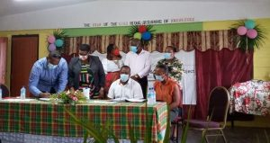 Contracts signed for upgrade of two schools in the southeast