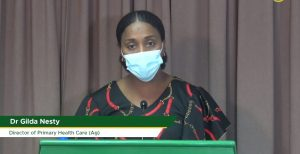 Dr. Gilda Nesty says contact tracing critical; discourages withholding of information