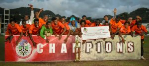 Sagicor congratulates South East Football Team on Premier League victory