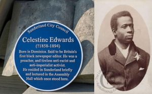 Dominican said to be first black newspaper editor in UK, honoured in that country