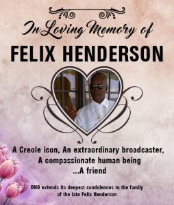 LIVE: Funeral of Felix Henderson from 9:30AM