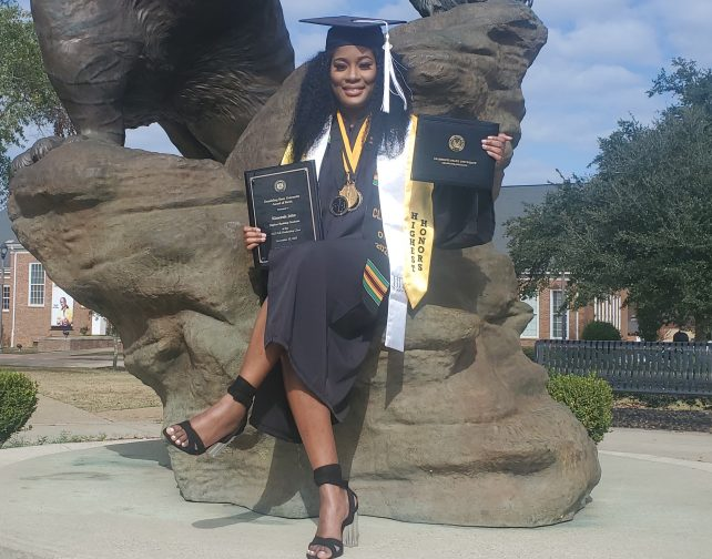Dominican valedictorian at US university aims to find a cure for cognitive disorders