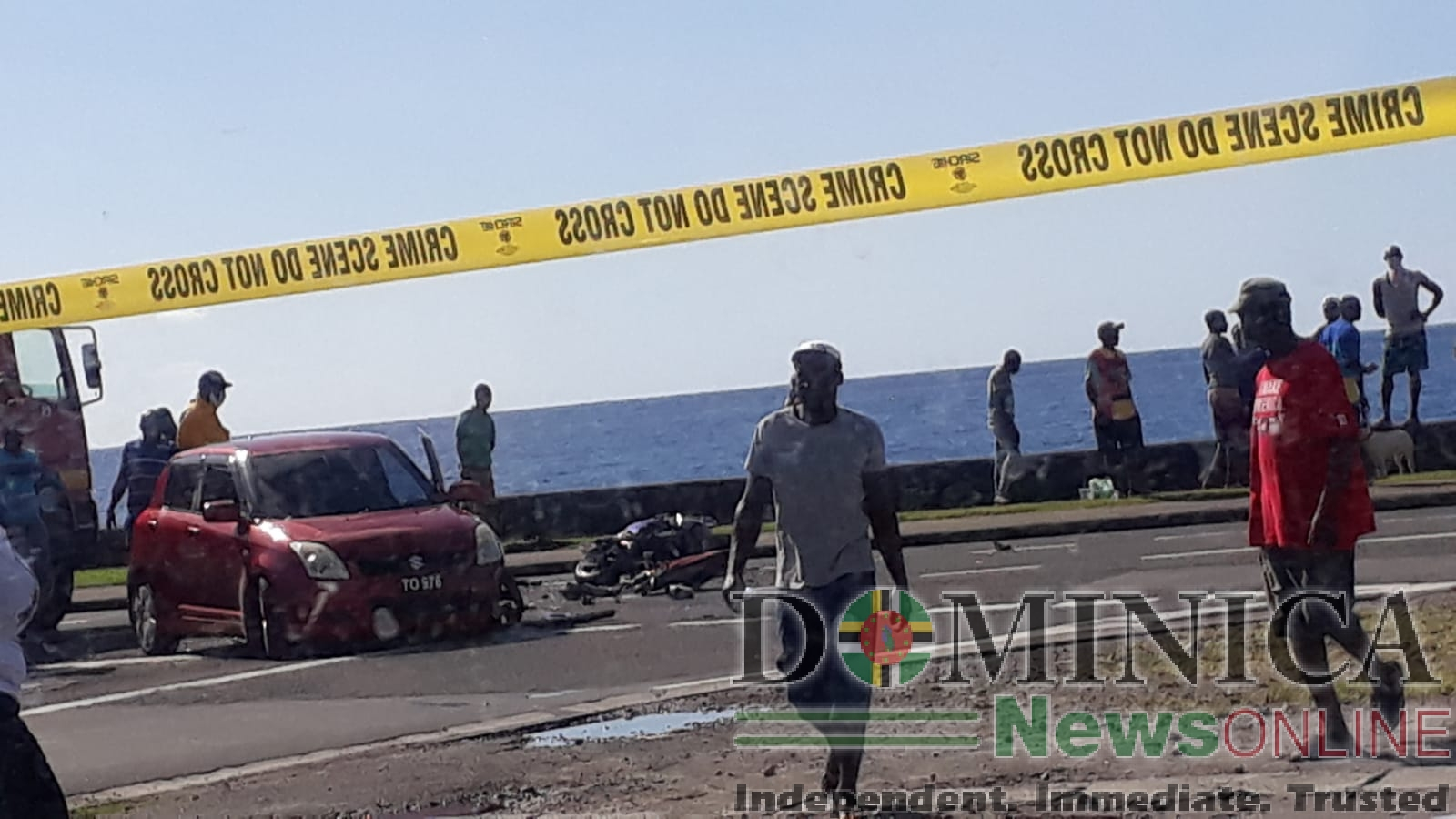 Police officer dies in traffic collision – Dominica News Online