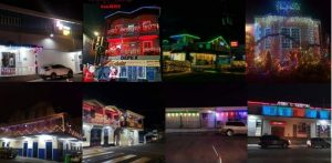 DAIC business Christmas lighting competition is on