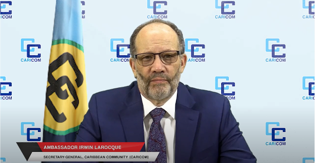 End of year message for 2020 from CARICOM Secretary-General – Dominica News Online