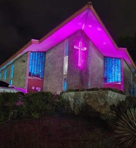 FEATURED PHOTO: Brilliant display at St. Martin De Porres Church, Canefield
