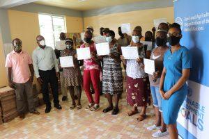40 farmers graduate from Cassava Farmer Field School (FFS)