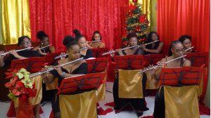 The Henckell Muriel Music Workshop Flute Ensemble in 'A Kwarantini Kind of Khristmas'