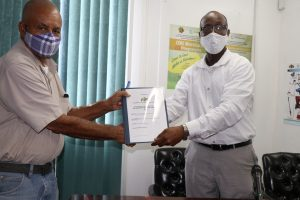 Contract signed for rehabilitation of Central Livestock Farm
