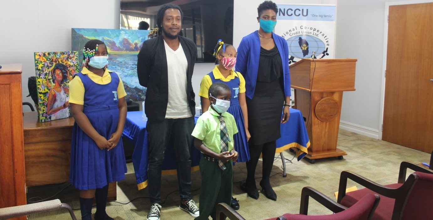 NCCU awards winners of 10th anniversary Creative Expression Through Art School Competition – Dominica News Online