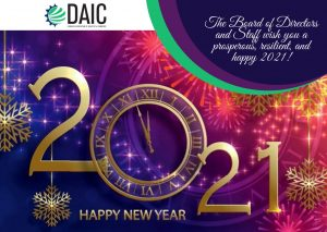 DAIC reviews 2020 and shares best wishes for a prosperous and resilient 2021