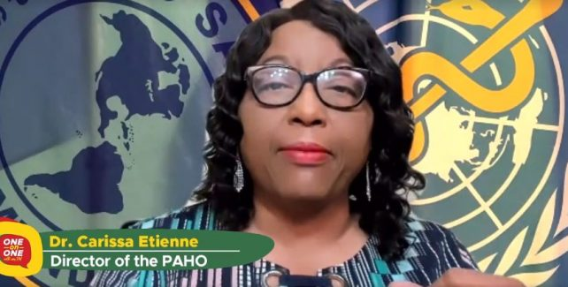 PAHO Director compliments Dominica's handling of COVID-19 and cautions Dominicans to be diligent
