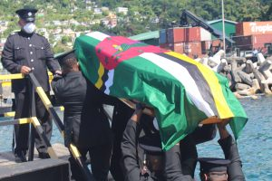 Body of late Corporal Ryan Shillingford back on Dominican soil