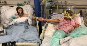 England: Mum's 'heartbreaking' death next to daughter in hospital