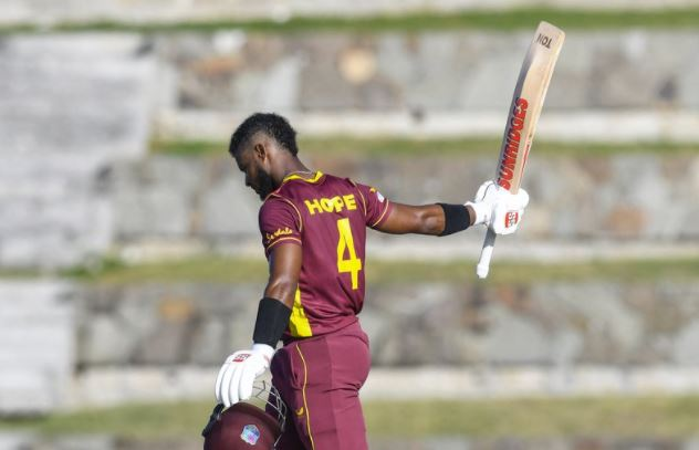 Hope joins elite batting group with superb 10TH ODI hundred vs Sri Lanka – Dominica News Online