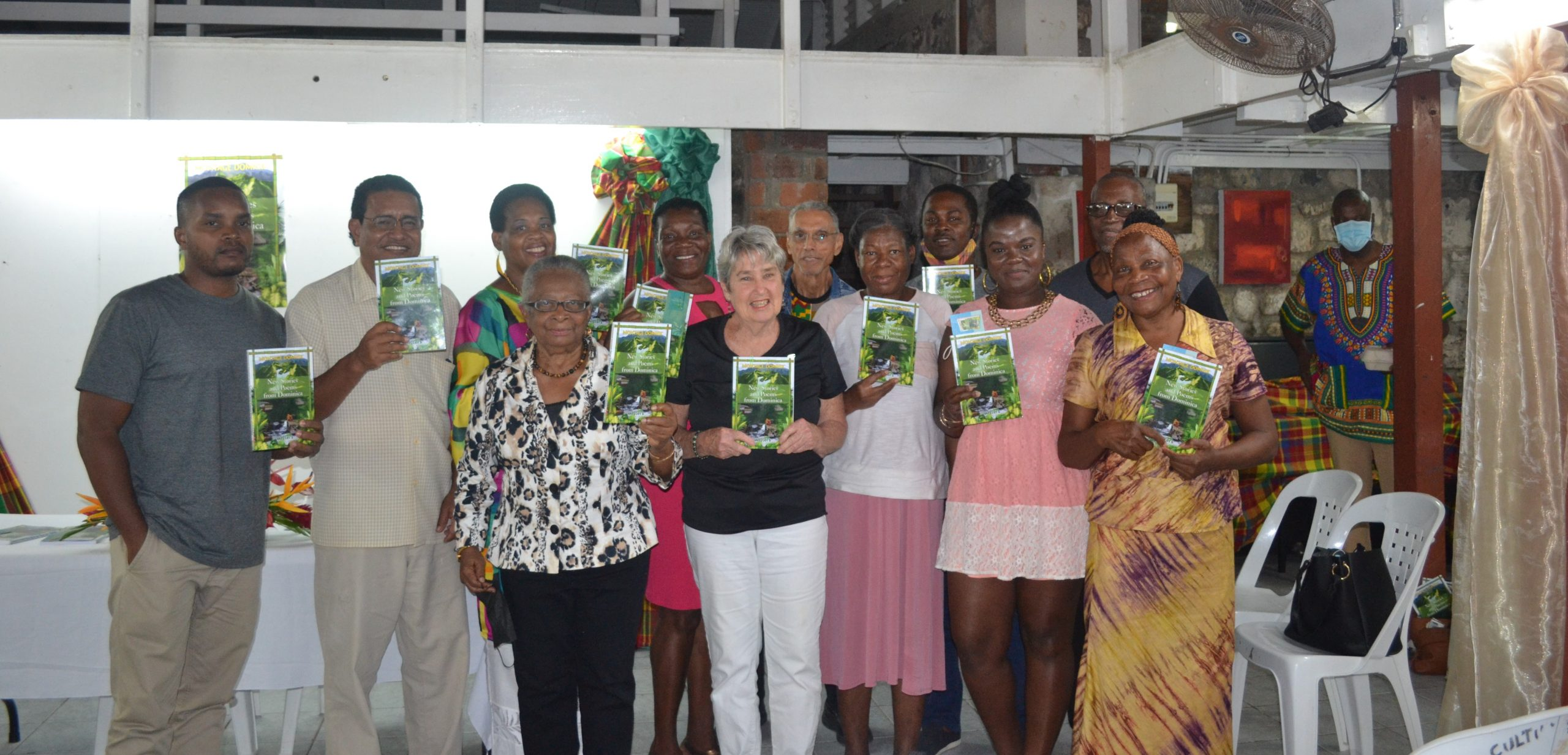 Dominican writers seek a place in Dominica's literary archives as they launch new book – Dominica News Online