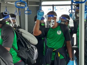 National Men's Football team settled in DR; begins training ahead of first World Cup Qualifier