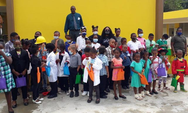 Wotten Waven Primary holds career day