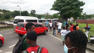 Public Works Minister condemns 'lawlessness' of protesting bus drivers