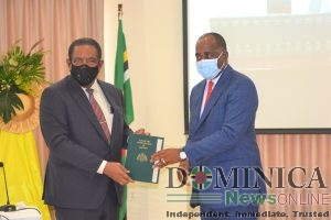 2017 revised edition of the Laws of Dominica presented to government
