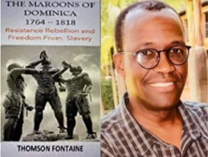 LIVE: Book launch of the 'Maroons of Dominica' by Dr. Thomson Fontaine from 3pm