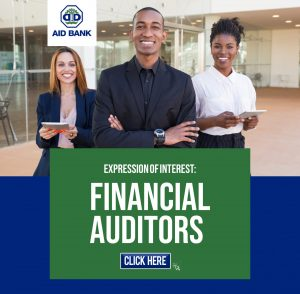 ANNOUNCEMENT: AID Bank invites expressions of interest for Financial Auditors