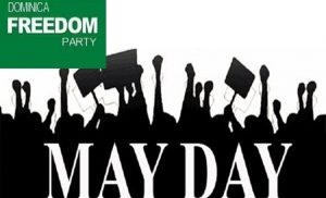 Dominica Freedom Party May Day solidarity message 2021