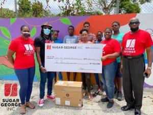 Sugar George Inc. donates to Love One Teach One Foundation
