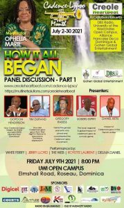 LIVE on DNO from 8PM: Panel discussion on Cadence Lypso Month