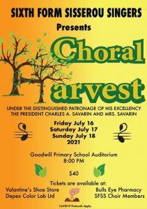 ANNOUNCEMENT: Sixth Form Sisserou Singers presents Choral Harvest