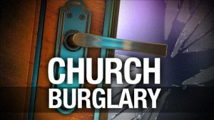 Man charged with burglary of church