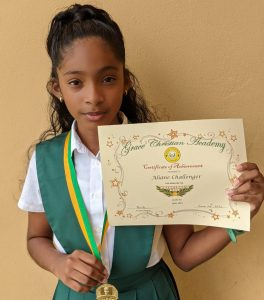 Dominican student tops G6NA in Antigua
